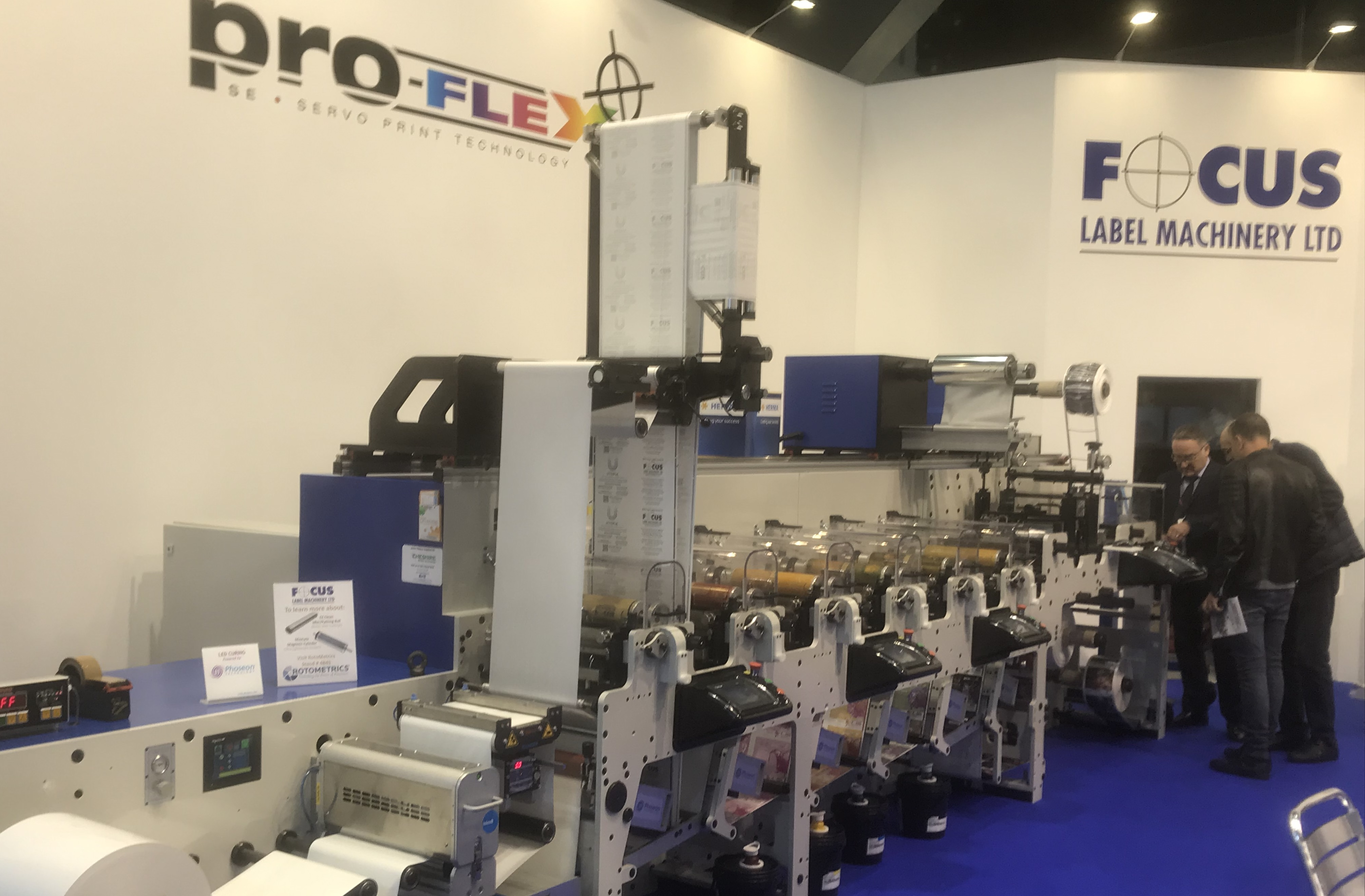 Flexographic Printing Machines: The Proflex Series