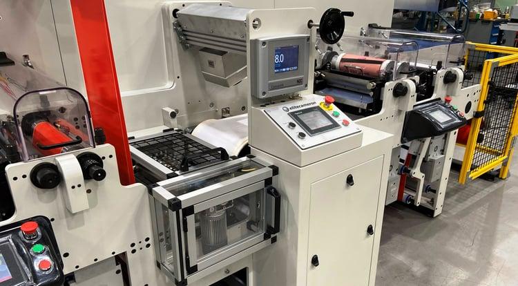Hybrid Flexo Coater Press