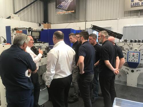 Printing Process Training With RotoMetrics 2