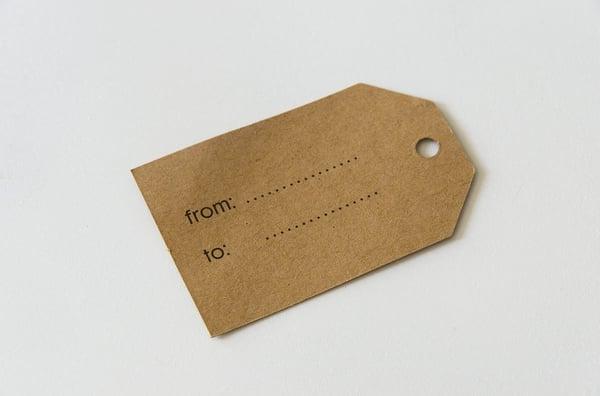 Rock Paper Label