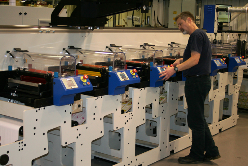 Why Invest In A Focus Label Machinery Flexographic Printing Press 1