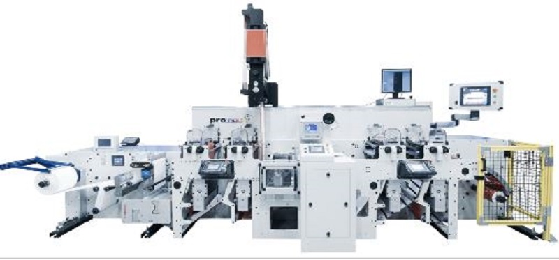 New Flexo' Machine With In Line Hot Melt Coating Launched